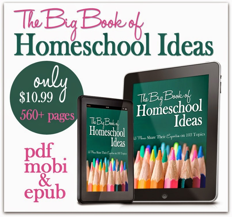 The Big Book of Homeschool Ideas: 55 Homeschooling Mommas share their expertise in 103 different areas of homeschooling