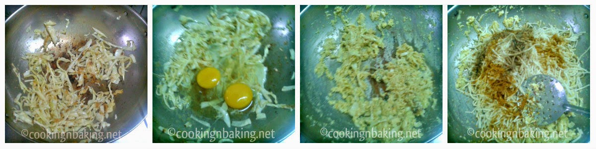 Cabbage Egg Noodles | How to make Cabbage Egg Noodles