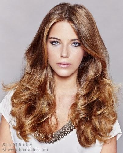 Color de pelo de moda primavera 2014 - ModaEllas.com
