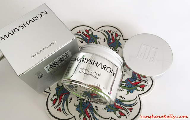 MarySharon SPA Sleeping Mask, Beauty Review, Mask Review, MarySharon