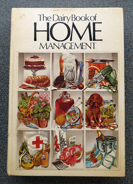 Vintage home management book