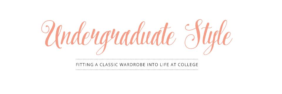 Undergraduate Style
