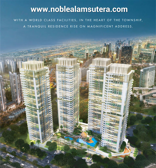 The Noble Alam Sutera Apartment Prelaunching 2016