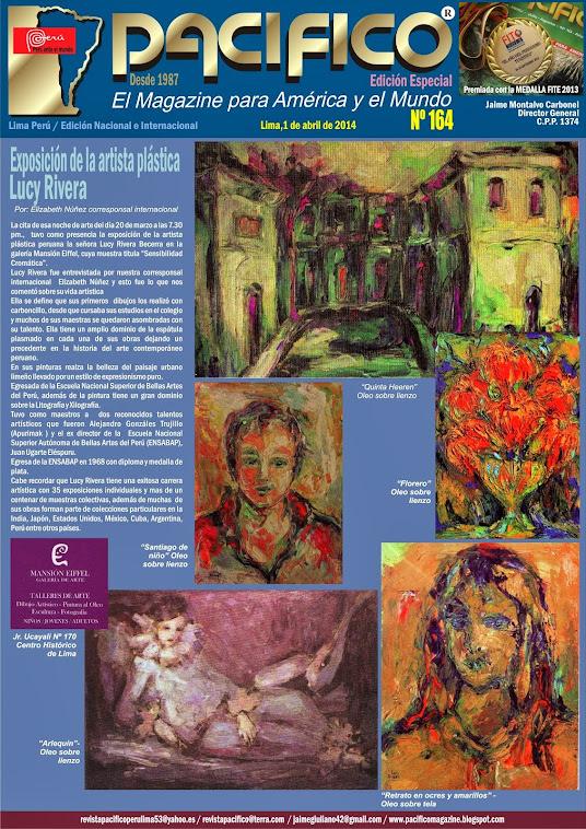 Revista Pacífico Nº 164 Edición Especial  / Lucy Rivera