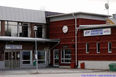 Jokkmokk, Jokkmokks busstation, resecentrum