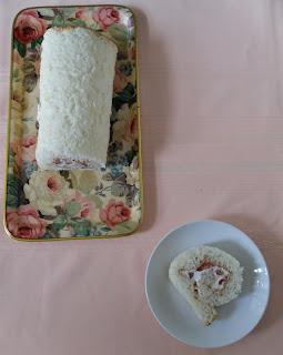 Angel Food Roll Cake Recipe