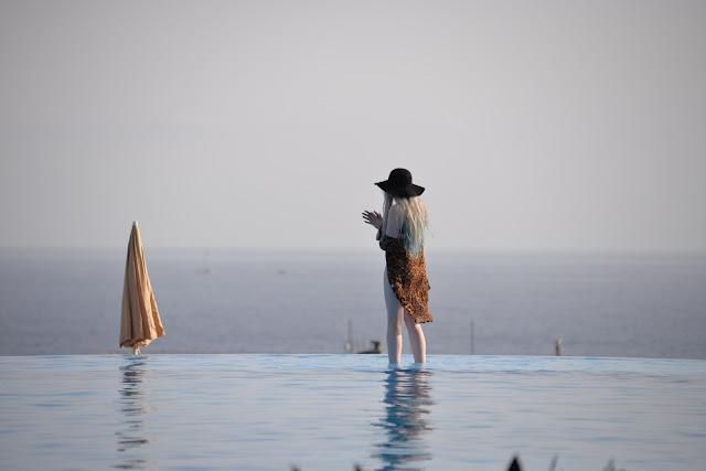 Sammi Jackson - Choies Leopard Kimono + Asos Cutout Swimsuit