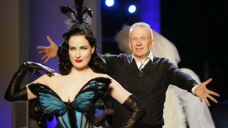 Dita Von Teese Rocks Jean Paul Gaultiers Couture Show In Paris photo 9