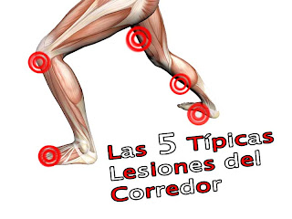 tipicas lesiones corredor