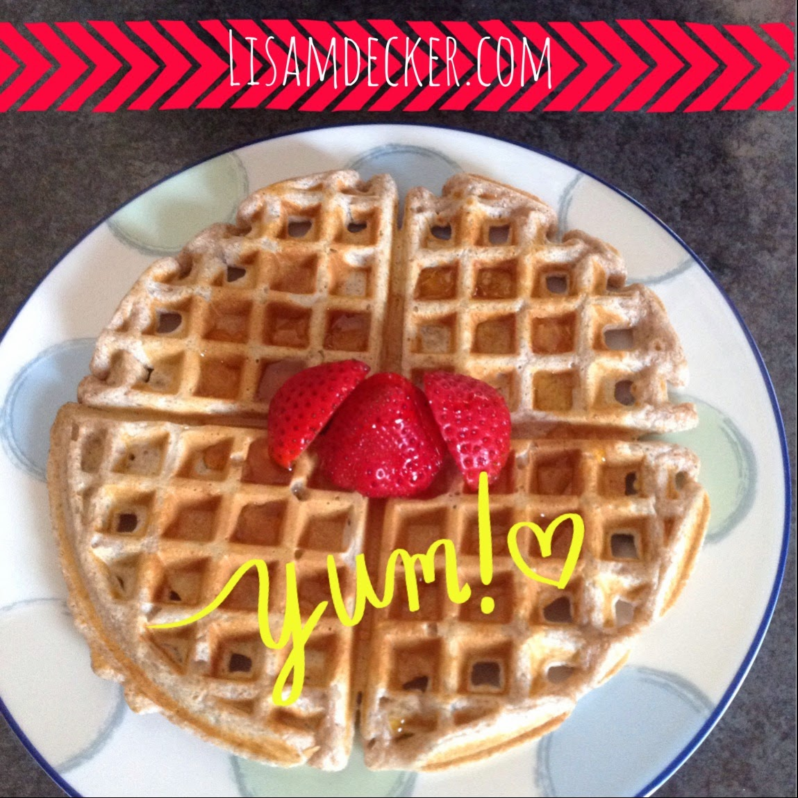 Clean Eating Home Style Waffles