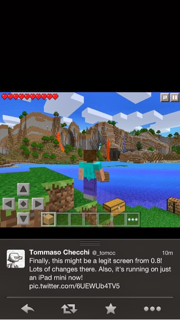 Cuebunny minecraft pe 0 8 0 will be out in nobiembre as will be