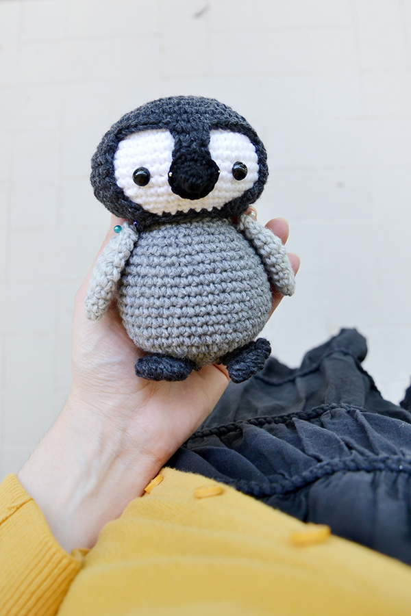 Baby Emperor Penguin Crochet Pattern By Planetjune Dog ...