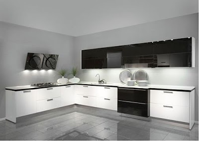 Modular kitchen with in built lights in chennai