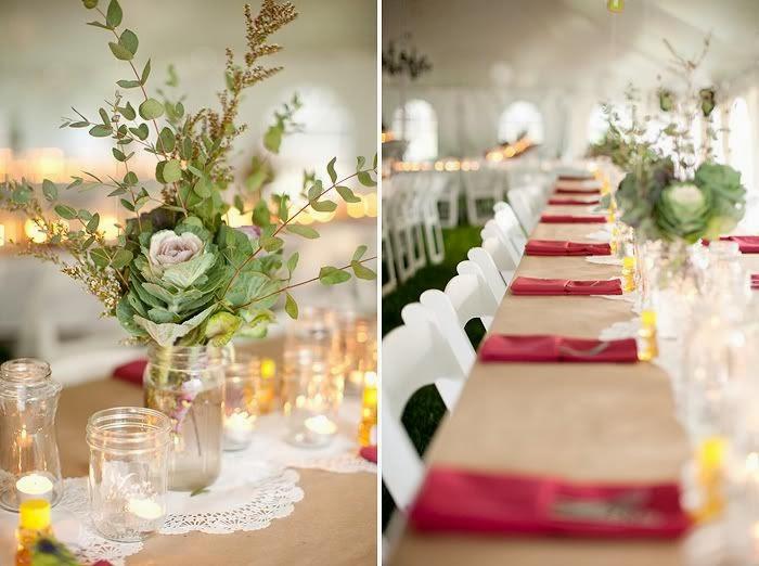 Rase una vez bodas y eventos diy camino de mesa con - Caminos de mesa de papel ...