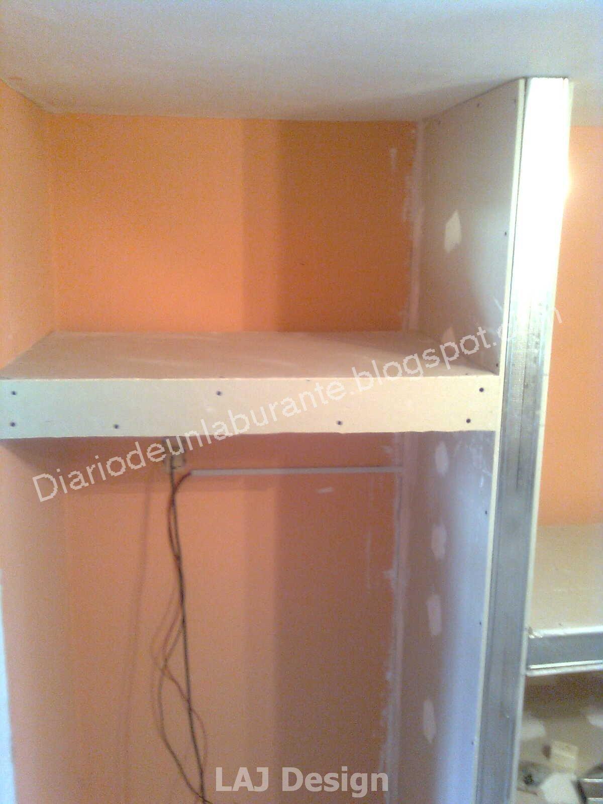Diario de un laburante mueble durlock en la cocina parte 1 for Partes de un mueble de cocina