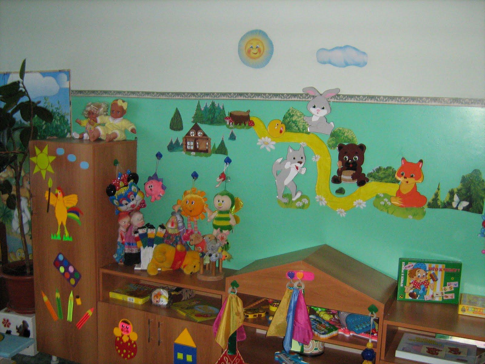 Новый год в детском саду оформление своими руками