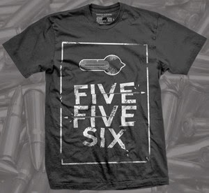 5.56 firearm shirt