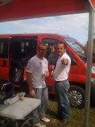 MI HIJO FELIPE, YO Y SEBASTIAN LOEB WRC 2013 EN VILLA GRAL. BELGRANO