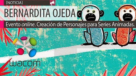 Conferencia online. Creación de Personajes para Series Animadas