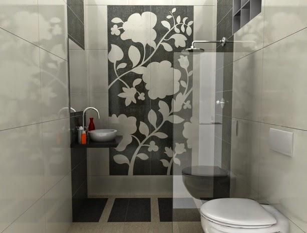 contoh ukuran kamar mandi 2x2 minimalis modern