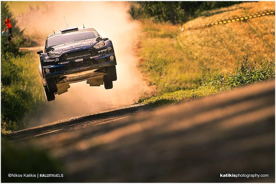 WRC Neste Oil Rally Finland 2014