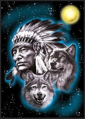 El ba l de los sue os los dos lobos for Native american tattoo artist seattle