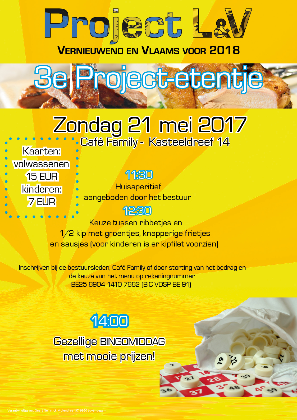 Eetfestijn Project L&V