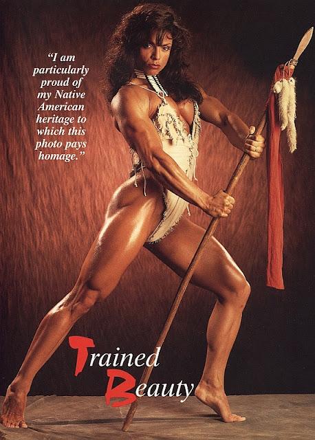 Sharon Bruneau - Female Bodybuilder