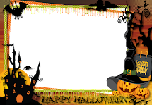 Free Halloween Borders and Frames Clip Art