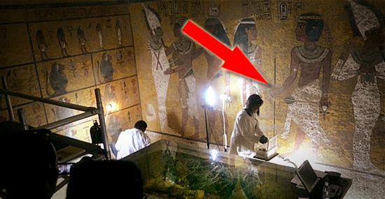 Tumba de Tutankhamon - o segredo por trás das paredes da cripta