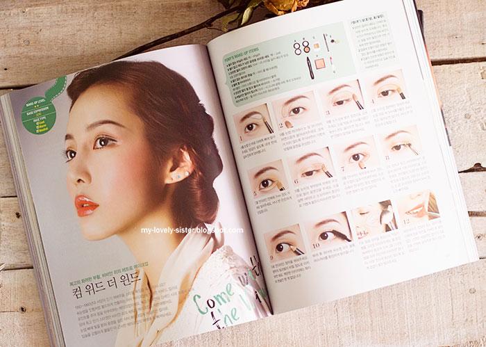 Berbagai macam tutorial make up yang diajari di buku ini :