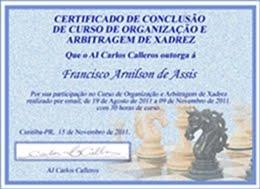 CERTIFICADO DE ÁRBITRO