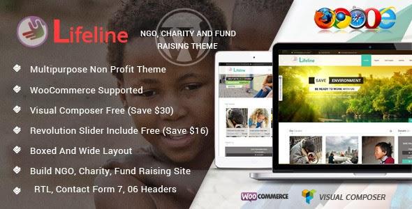 NGO Charity Fund Raising WordPress Template