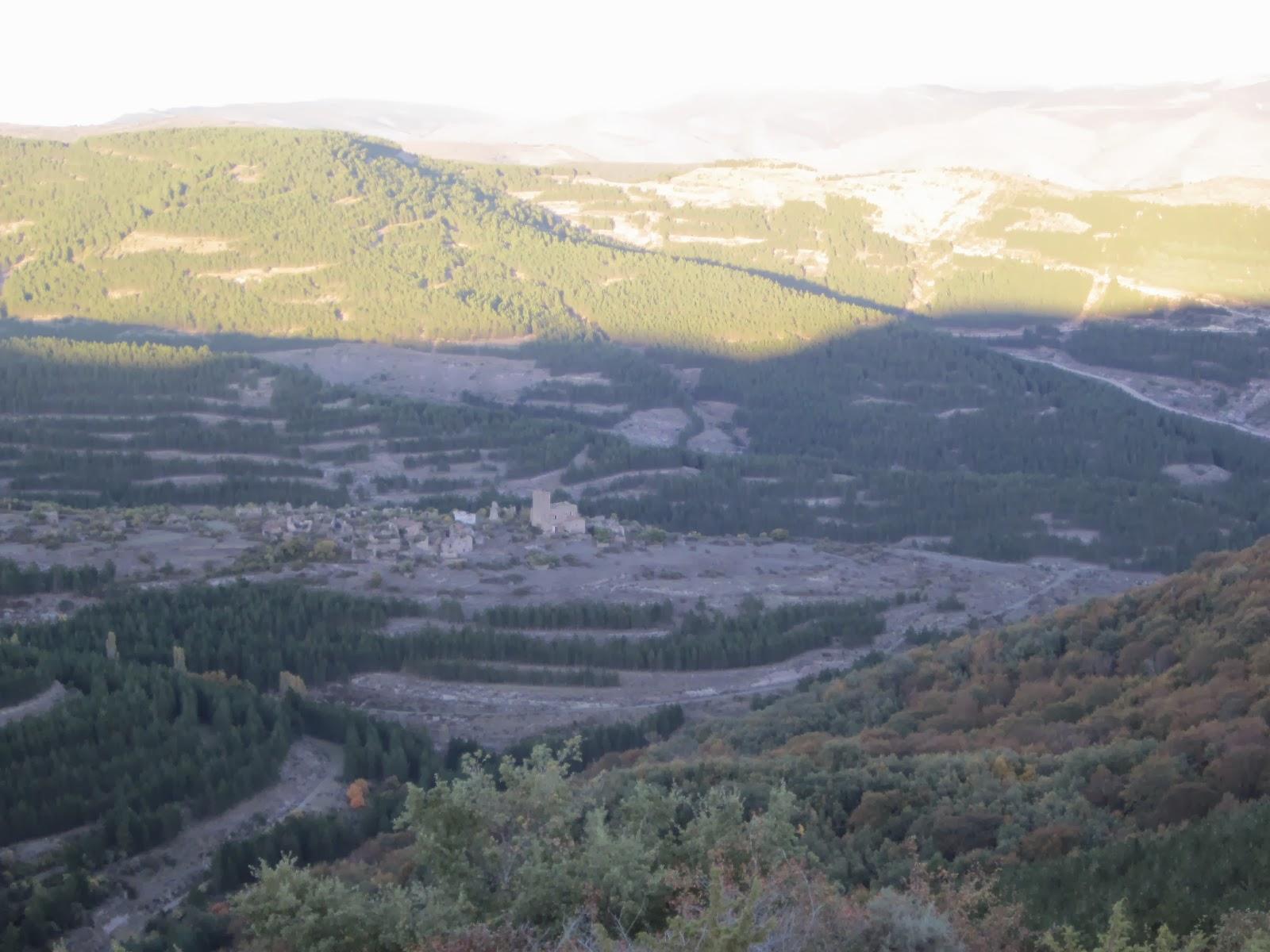 Santa María en Cameros desde el Cerro de Torre en Cameros