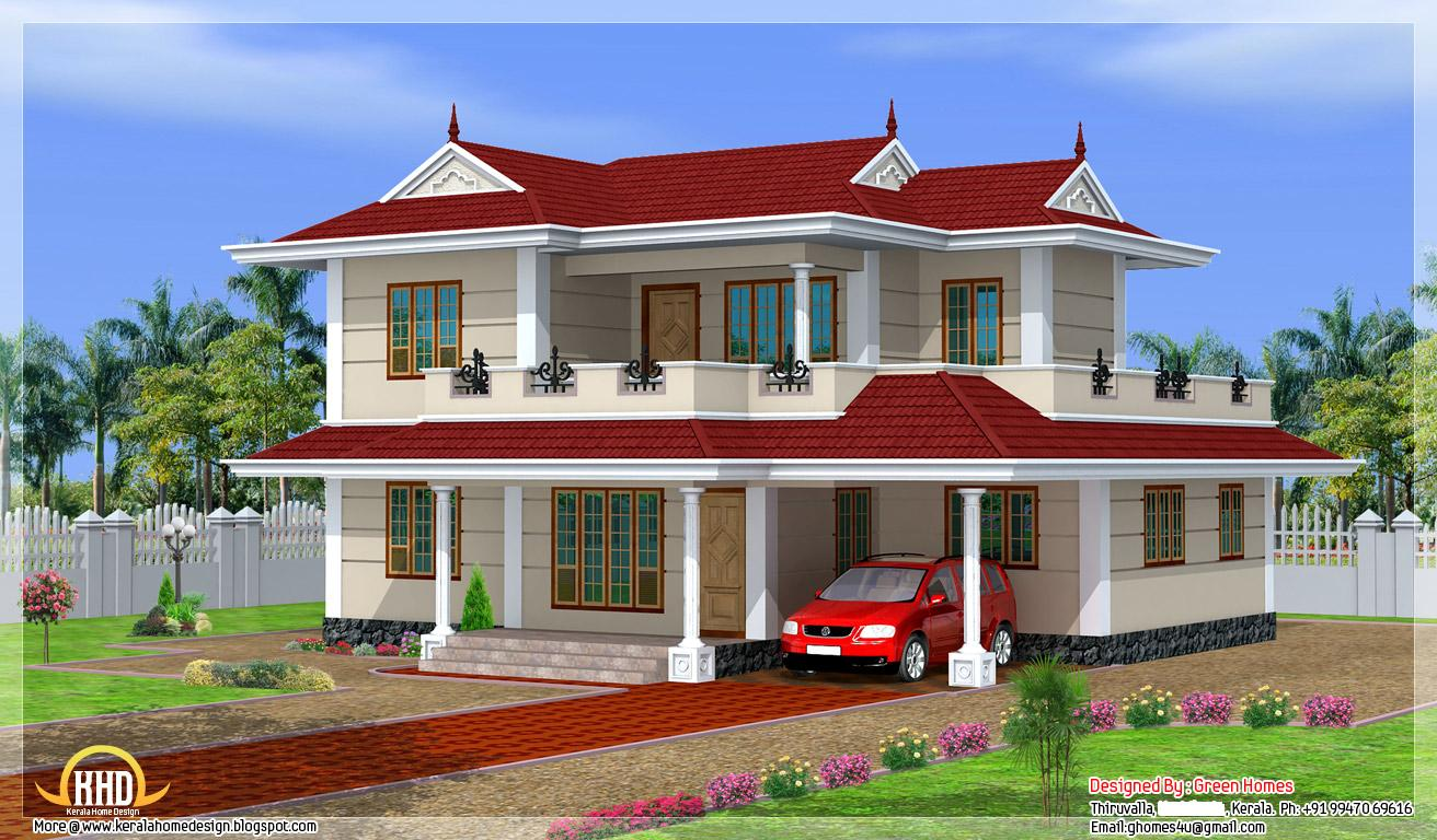 2250 Square Feet (209 Square Meter) Kerala model double storey house ...