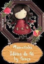 Esta mascote foi me oferecida pela madrinha da Kika a Sonia