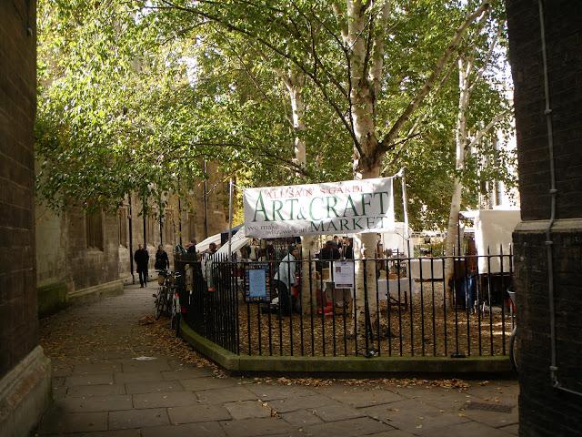 Amatų ir menų turgelis Kembridže