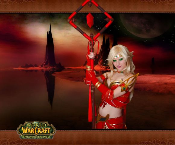 EnjiNight deviantart mulher gata cosplay