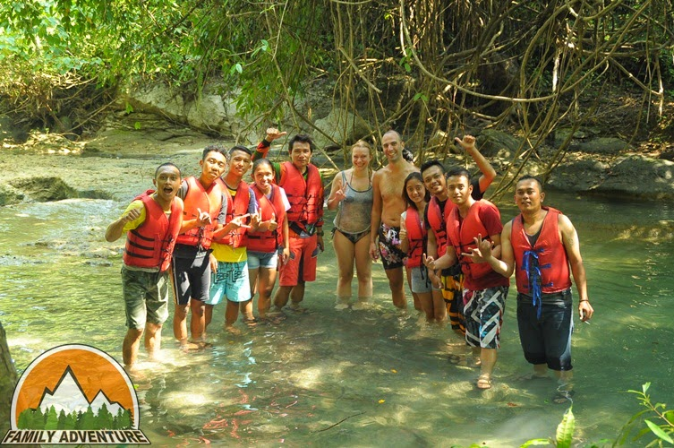 BODY RAFTING CITUMANG PANGANDARAN GREEN CANYON