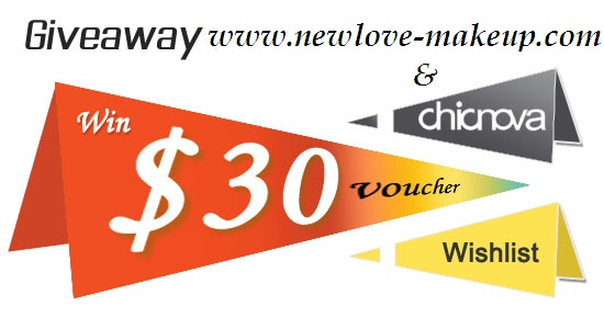 Chicnova $30 Coupon Giveaway