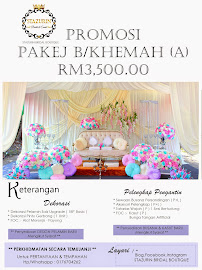 PROMOSI PAKEJ SANDINGBAWAH KHEMAH/KANOPI RM3,500.00