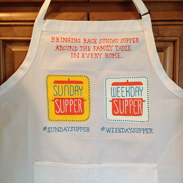 Sunday Supper Apron