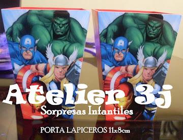 sorpresas infantiles LOS VENGADORES - SUPER HEROES