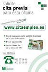 CITA PREVIA OFICINAS DE EMPLEO-SAE