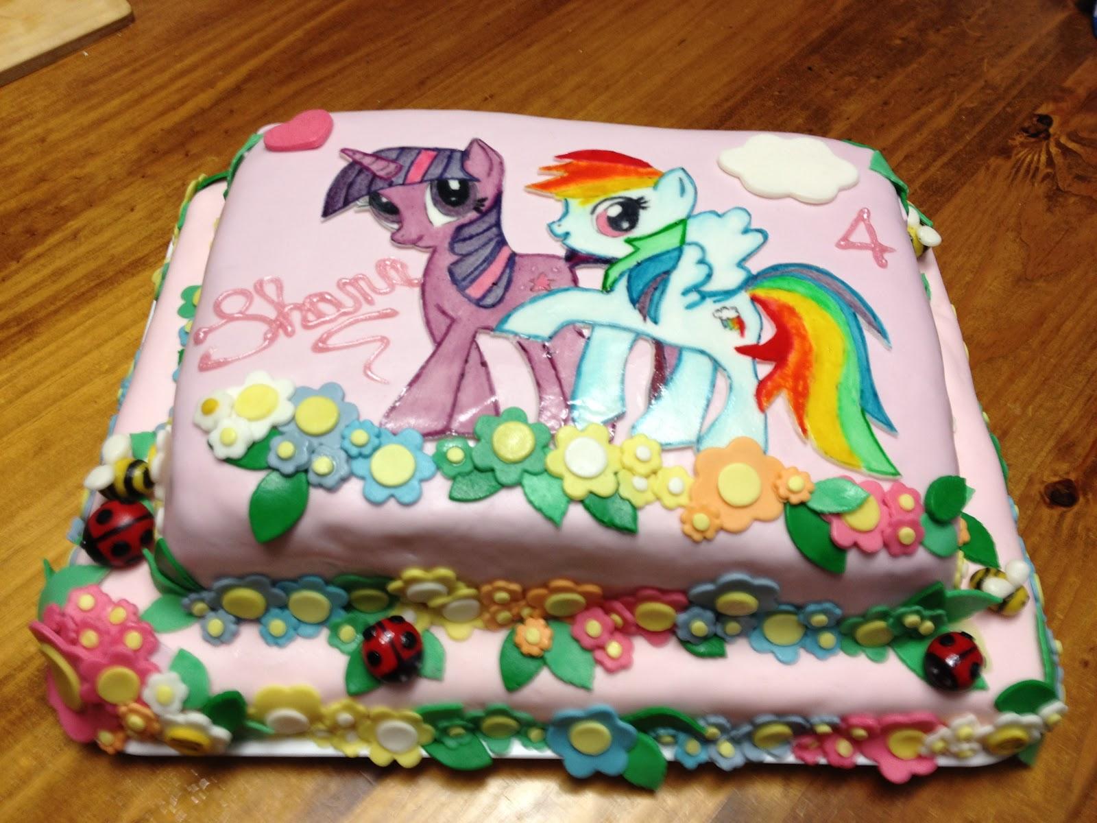 My Little Pony Torte
