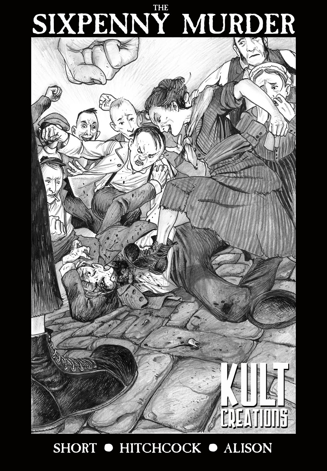 Buy 'The Sixpenny Murder' digital comic