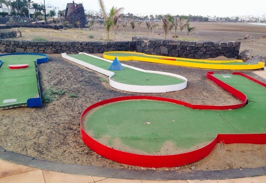 Crazy Golf in Puerto del Carmen, Lanzarote