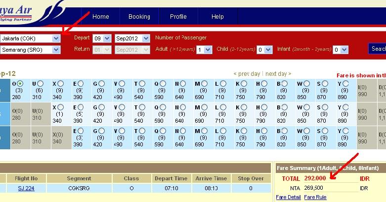 tiket murah jakarta-semarang sriwijaya   DIAMOND Travel & Tour