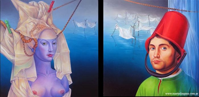 Martín La Spina | Argentine Surrealist painter