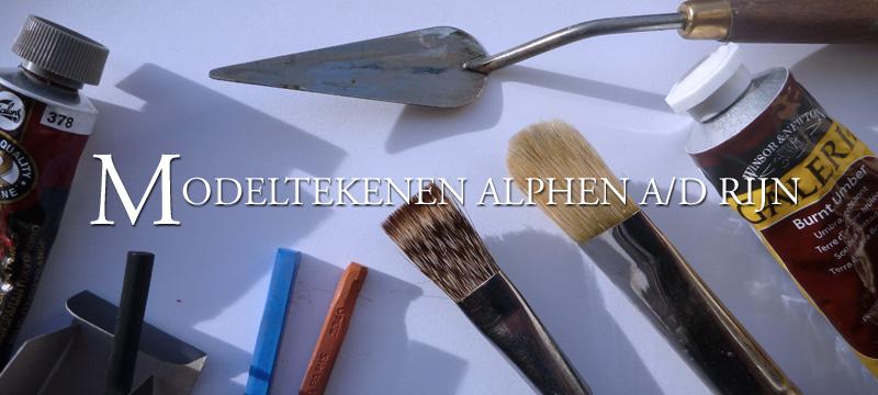 Modeltekenen en -schilderen in Alphen a/d Rijn